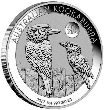 "1 oz Silber Kookaburra 2017 "" Privy Mark Panda "" - Peking Coin Show - max. 8000 Auflage  ( diff.besteuert nach §25a UStG )"