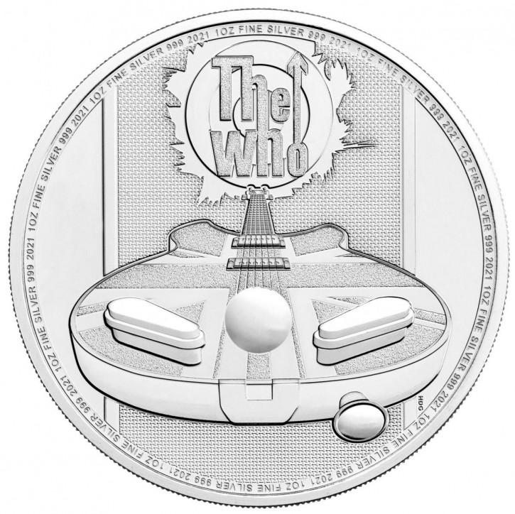 "1 oz Silber Royal Mint "" The Who "" Music Legends Series - max 25.000 ( diff.besteuert nach §25a UStG )"