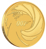 1 oz Gold Perth Mint James Bond in Kapsel - max 5.000