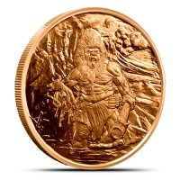 1 oz Copper/Kupfer Nordic Creatures Frost Giant ( 19% Mwst )