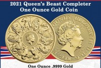 """1 oz Gold Royal Mint / United Kingdom """" 10 Beast Complete Collection  """""""