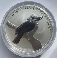 10 oz Silber Kookaburra 2010 in Kapsel ( diff.besteuert nach §25a UStG )