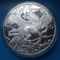 "10 oz Silber "" Pegasus 2013 "" Modern Ancients by Mike Maloney ( 19% Mwst )"