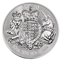 10 oz Silber Royal Mint Royal Arms 2020 1te Ausgabe in Kapsel ( diff.besteuert nach §25a UStG )