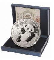 150 Gramm Silber Panda 2020 Proof inkl. Box & COA  ( diff.besteuert nach §25a UStG )