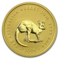 1/2 oz Gold Känguru 2006 in Kapsel