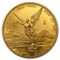 1 oz Gold Mexiko Libertad 2008 - max. 800 Stück