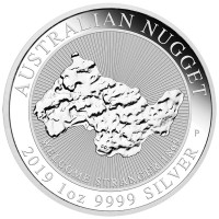 """1 oz Silber Perth Mint """" Nugget """" - Welcome Stranger 2019"""