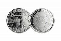 "1 oz Silber Dominica 2019 "" Parrot "" Scottsdale Mint / Prooflike in Kapsel ( diff.besteuert nach §25a UStG ) - max 25.000 Stk"