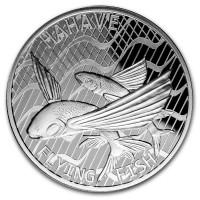 "1 oz Silber Tokelau "" Flying Fish "" - max. 10.000 ( diff.besteuert nach §25a UStG )"