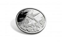 1 oz Silber Dominica Hummingbird 2020 ( diff.besteuert nach §25a UStG )