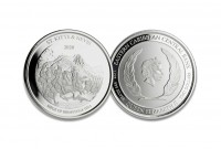 1 oz Silber St Kitts & Nevis Brimstone Hill in Kapsel 2020 - EC8 Serie ( diff.besteuert nach §25a UStG )