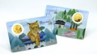 1/10 oz Gold Korea Tiger 2020 inkl. Card ( Komsco ) - max. 333