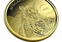 1 oz Gold Proof Ghana Leopard 2020 - max 100 - geprägt by Scottsdale Mint
