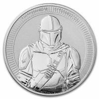 "1 oz Silber Niue "" Star Wars The Mandalorian / New Zealand Mint "" 2021 - max 25.000 ( diff.besteuert nach §25a UStG )"