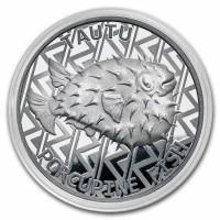 """1 oz Silber Tokelau """" Porcupine Fish / Igelfisch """" - max. 10.000 ( diff.besteuert nach §25a UStG )"""