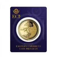 1 oz Gold Antigua & Barbuda Frigate Bird EC8 Serie 2021( Auflage 2.500 )