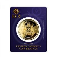 1 oz Gold Grenada EC8 Serie 2021( Auflage 2.500 )