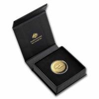 1 oz Gold Australien Fraser's Dolphin 2021 in Kapsel / Box / COA - max. Auflage 250