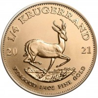 1/4 oz Gold Krügerrand 2021