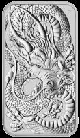 "1 oz Silber Perth Mint "" Dragon "" Silber Coin Bar 2021 ( diff.besteuert nach §25a UStG )"