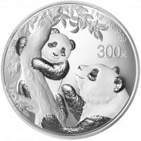 1 Kilogramm / 1000 Gramm Silber Panda 2021 Proof in Box / COA  ( diff.besteuert nach §25a UStG )