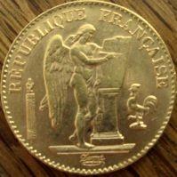20 Francs Frankreich div. Jahre ( 5,81 Gramm Gold Fein )