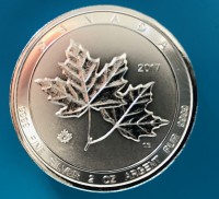 14 X 2 oz Silber Royal Canadian Mint Twin Maple Leaf div. Jahre ( diff.besteuert nach §25a UStG )