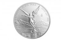 5 oz Silber Libertad Mexiko 2020 ( diff.besteuert nach §25a UStG )