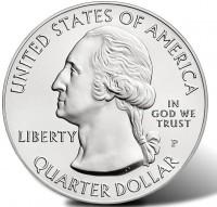 """5 oz Silber USA """" America the beautiful """" Motiv/Jahrgang unserer Wahl  ( diff.besteuert nach §25a UStG )"""