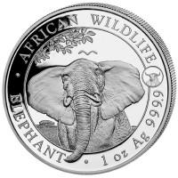 "1 oz Silber Somalia Elefant 2021 "" Ox / Ochse "" - max 5.000 ( diff.besteuert nach §25a UStG )"