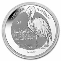 "1 oz Silber British Virgin Islands "" American Flamingo 2021 "" Reverse Frosted - max. 10.000 ( diff.besteuert nach §25a UStG )"