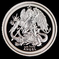 "1 oz Silber Isle of man PU  "" Angel "" 2018 in Kapsel - max. Auflage 15.000  ( diff.besteuert nach §25a UStG )"