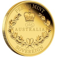 """2020 Australian Sovereign Proof inkl. Box """" Privy 165 years """" - max 950 Mintage ( 7,32 Gramm Gold fein )"""