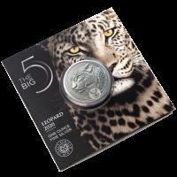 """1 oz Silber Leopard """" Big Five """" South African Mint - max 15.000 ( diff.besteuert nach §25a UStG )"""