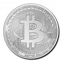 3 X 1 oz Silber Tschad 2020 Crypto Coins Ethereum , Bitcoin , Litecoin ( diff.besteuert nach §25a UStG )