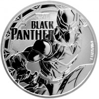 "1 oz Silber Perth Mint "" Black Panther - Marvel Comics "" in Kapsel - max Mintage 50.000 ( diff.besteuert nach §25a UStG )"