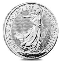 25 X 1 oz Silber Britannia 2022 ( diff.besteuert nach §25a UStG )