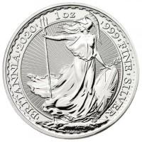 1 oz Silber Britannia 2020 ( diff.besteuert nach §25a UStG )
