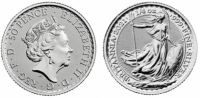 1/4 oz Silber Britannia 2021 ( diff.besteuert nach §25a UStG )