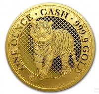 1 oz Gold St. Helena Tiger inkl. Box / COA ( max 100 Stk )