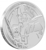 "1 oz Silber New Zealand Mint "" Darth Vader "" 2019 ( diff.besteuert nach §25a UStG )"