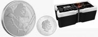 """1 oz Silber New Zealand Mint """" Darth Vader """" 2020 """" ( diff.besteuert nach §25a UStG )"""