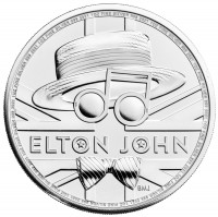 "1 oz Silber Royal Mint "" Elton John Music Legends "" - max 25.000 ( diff.besteuert nach §25a UStG )"