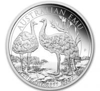"""1 oz Silber Perth Mint """" Emu 2019 """" in Kapsel - max Mintage 30.000 ( diff.besteuert nach §25a UStG )"""