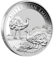 """1 oz Silber Perth Mint """" Emu 2020 """" in Kapsel - max Mintage 30.000 ( diff.besteuert nach §25a UStG )"""