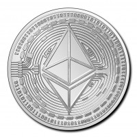 1 oz Silber Tschad 2020 Crypto Coins Ethereum ( diff.besteuert nach §25a UStG )