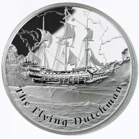 1 oz Silber Proof Perth Mint Famous Ships The Flying Dutchman - max. 3000 ( inkl. gültiger gesetzl. Mwst )