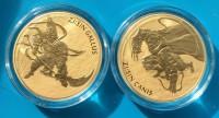 2 X 1/2 oz Gold Korea ( 1/2 oz Gallus und 1/2 oz Canis ) - Auflage je 1.000
