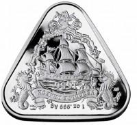 """1 oz Silber Australien """" Australian Shipwreck Series - Gilt Dragon """" in Kapsel 2020 - max. 20.000 Stk ( diff.besteuert nach §25a UStG )"""